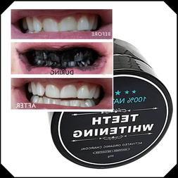 Natural Teeth Whitening Gum Powder Coconut Activate Charcoal