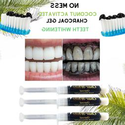 Coconut Activated Charcoal Teeth Whitening Gel~Fluoride Free