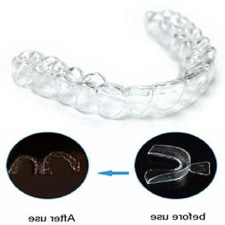 2pc teeth whitening mouth tray guard thermo