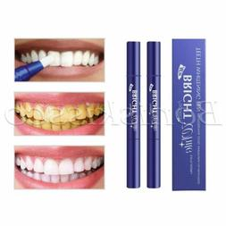 2pcs Teeth Whitening Pen Perfect Smile White Tooth Oral Care