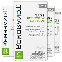 Rembrandt 3 Day Teeth Whitening Boost Kit, 6 Custom Fit Whit
