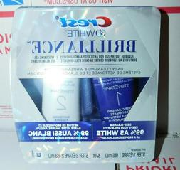 Crest 3D White Brilliance Daily Cleansing Toothpaste Whiteni