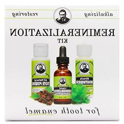 Uncle Harry's Natural Remineralization Kit for Tooth Enamel