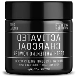 Activated Charcoal Teeth Whitening Powder   Pure Beauty Awar