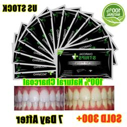 EZGO Activated Charcoal Teeth Whitening Strips Whitestrips N