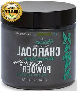 Activated Charcoal Tooth & Gum Powder, invitamin, 2.75 oz Sp