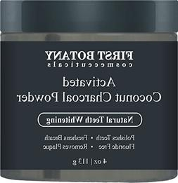 100 % Natural Activated Coconut Charcoal Powder 4 oz for All