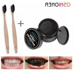 Active WOW Teeth Whitening Charcoal Powder Natural 2fl Oz 30