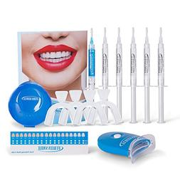 Advanced Teeth Whitening Kit with 8LED Accelerator Light 5x
