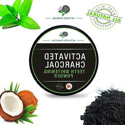AMA Teeth Whitening Powder Organic Activated Charcoal Bamboo