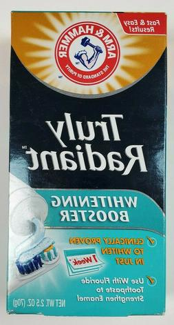 Arm & Hammer Truly Radiant Whitening Booster Easy Toothpaste