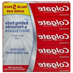 Colgate Baking Soda and Peroxide Whitening Toothpaste, Brisk