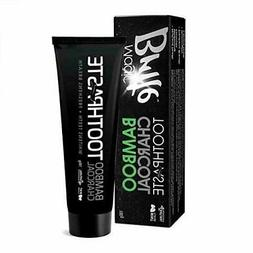 Bamboo Charcoal Naturally Activated Teeth Whitening Toothpas