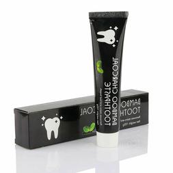 bamboo charcoal teeth whitening toothpaste black removes