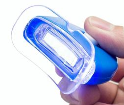 NEW LED Blue Hands-free Teeth Whitening Bleaching Accelerato