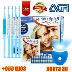 bright white smile teeth whitening kit pro