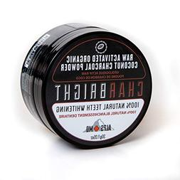 CHARBRIGHT Organic Activated Charcoal Teeth Whitening Powder