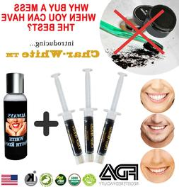Charcoal Mint Teeth Whitening System Kit Toothpaste Cream Ge