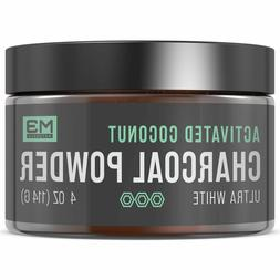 M3 Naturals Activated Charcoal Teeth Whitening Powder Natura