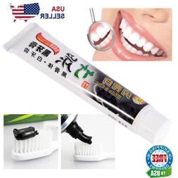 Charcoal Teeth Whitening Toothpaste Black Removes Stains Bad