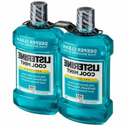 Listerine Cool Mint Mouthwash Antiseptic Deep Clean Fresh Br