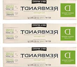 Rembrandt Deeply White + Peroxide Whitening Toothpaste 3.5 o