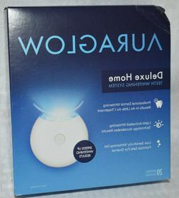 Auraglow Deluxe Home Teeth Whitening System 20 Whitening Tre