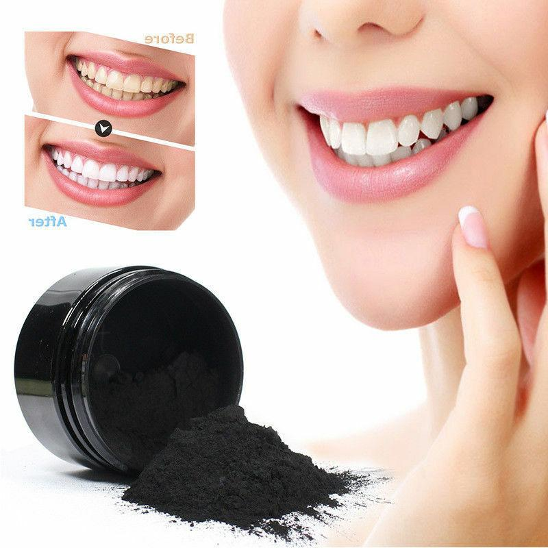 ACTIVATED CHARCOAL WHITENING POWDER NATURAL ORGANIC +
