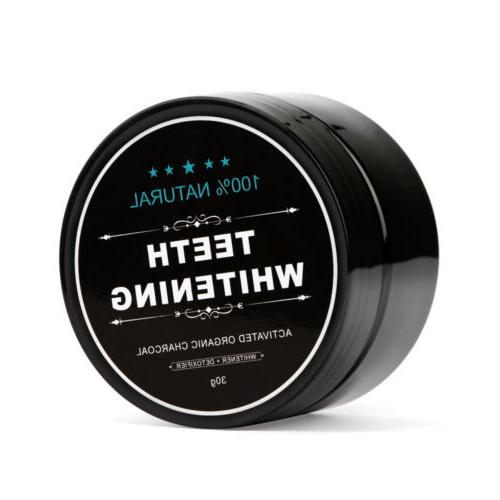 Natural Activated Charcoal Whitening Teeth
