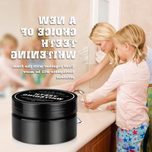 Natural Activated Charcoal Whitening Stain Teeth