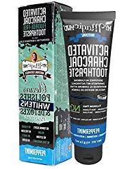 My Magic Mud Activated Charcoal Whitening Toothpaste Pepperm