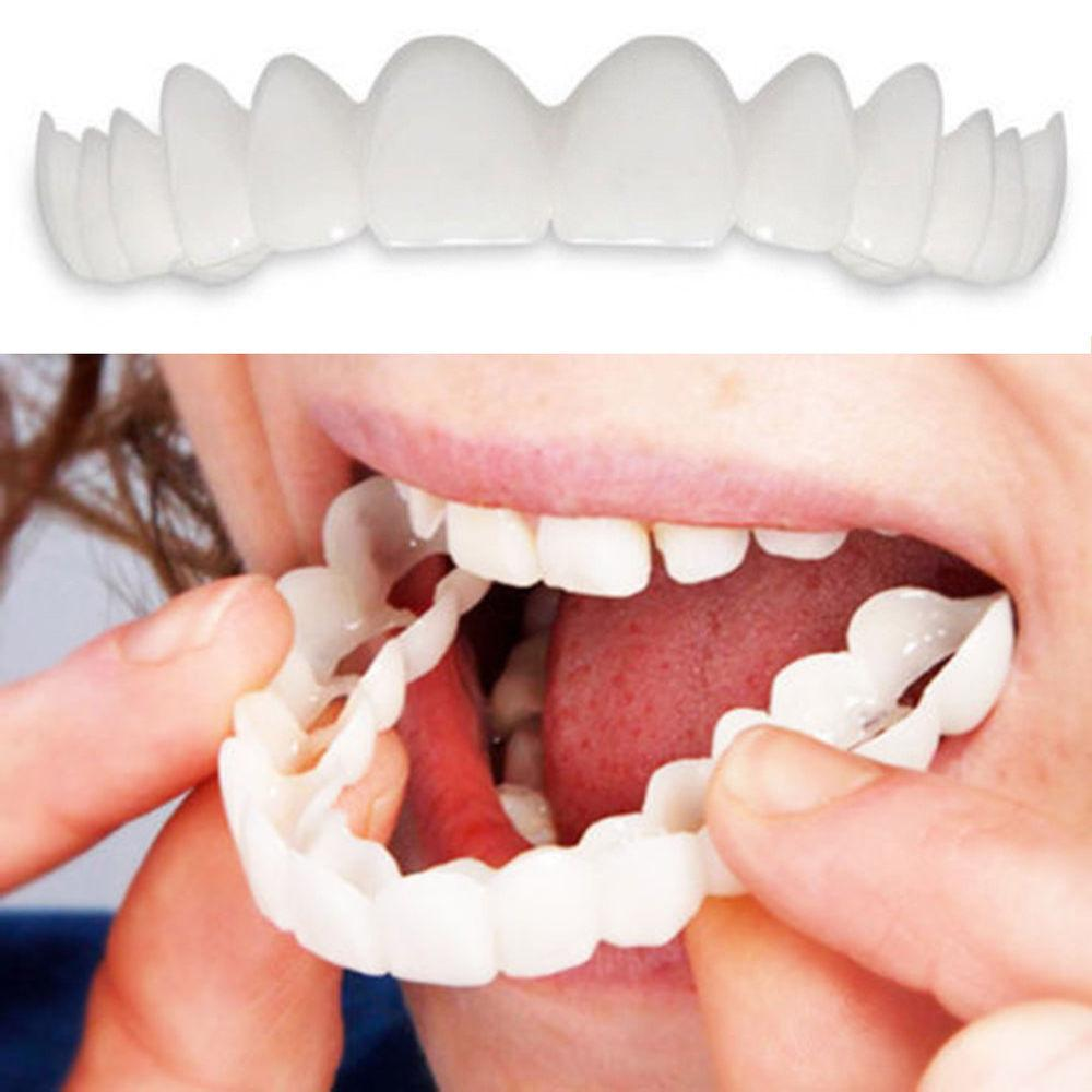 Adult Flex Cover Whitening Denture Tooth Dental Care