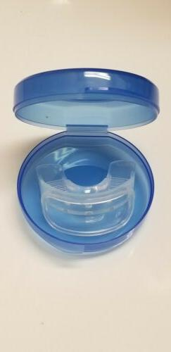 AuraGlow Mouth Teeth Whitening Tray,  Retainer Case & Tongue