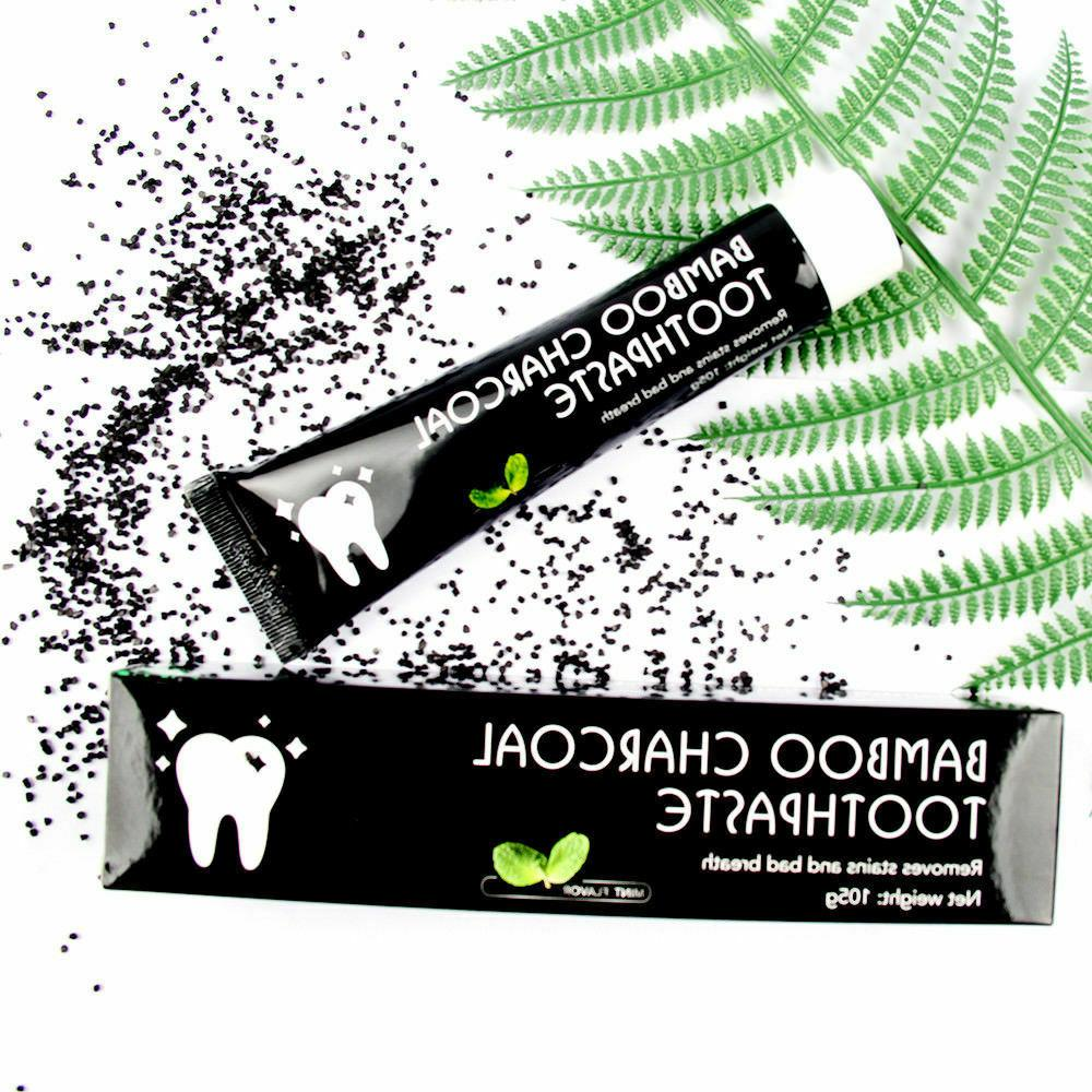 Bamboo Whitening Toothpaste Black Bad Breath 105g
