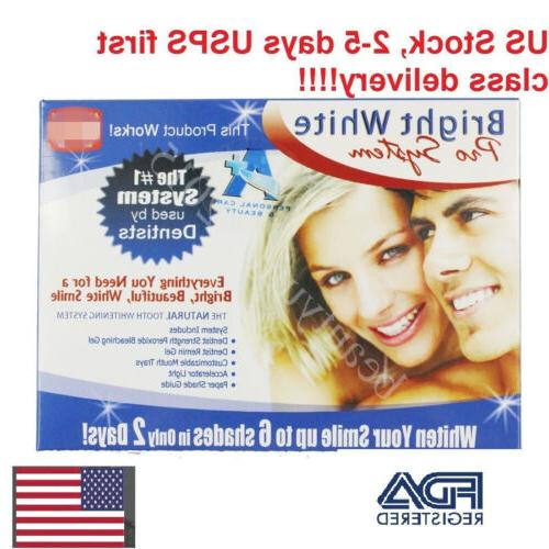 Bright Smile Whitening Pro + Bleaching Gels Blue