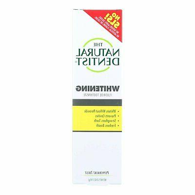 healthy teeth and gums whitening toothpaste peppermint