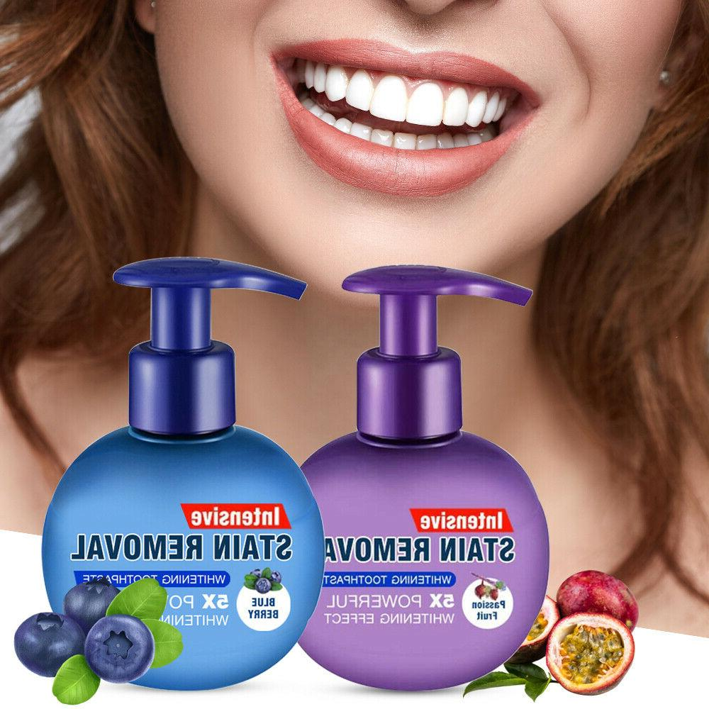 Intensive Stain Removal Whitening Toothpaste Fight Bleeding Gums