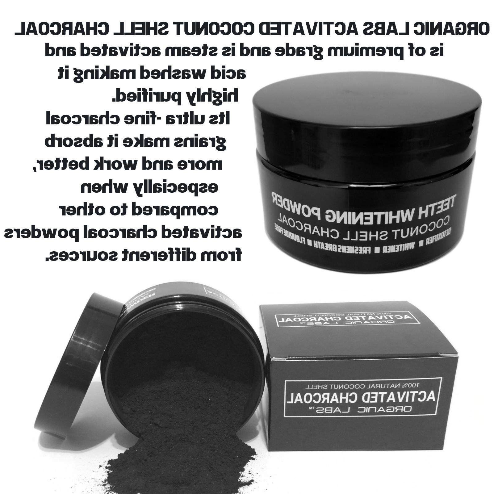 COCONUT ACTIVATED 100% NATURAL TEETH POWDER