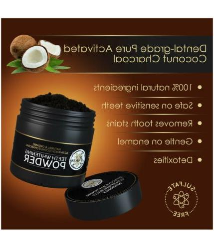 Teeth Activated Charcoal Powder – 2oz Kit