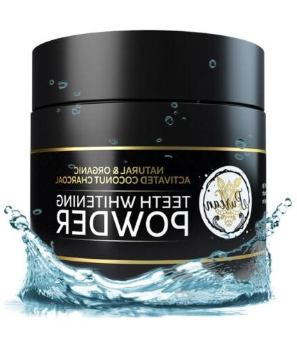 teeth whitening activated coconut charcoal powder 2oz