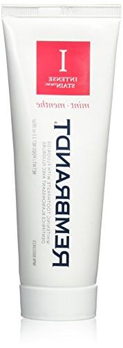 Rembrandt Toothpaste, Intense Stain, Mint Flavor, 3.52-Ounce