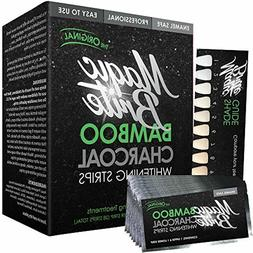 MagicBrite Bamboo Charcoal Teeth Whitening Strips At Home Wh
