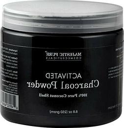 Majestic Pure Activated Charcoal Powder for Face Mask, Teeth