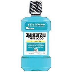 mouthwash listerine antiseptic coolmint 8 5oz 250ml