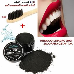 COCONUT ACTIVATED CHARCOAL TOOTHPASTE 100% NATURAL TEETH WHI