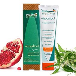 Himalaya Neem and Pomegranate Toothpaste, Natural, Fluoride-