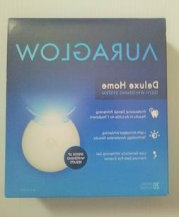 NEW AuraGlow Deluxe Home Teeth Whitening System  -EXP 10/202