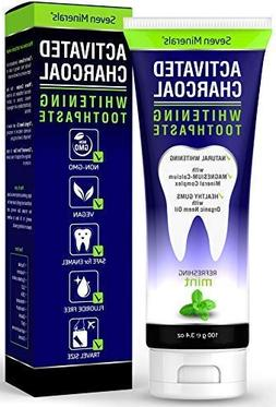 New REMINERALIZING Activated Charcoal Toothpaste - Enamel Sa