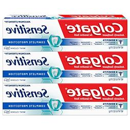 Colgate Sensitive Complete Protection Toothpaste 6oz 3 pack