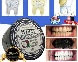 TEETH WHITENING 100% NATURAL ACTIVATED ORGANIC CHARCOAL TOOT